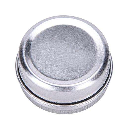 Welecom 5 boîtes rondes en aluminium pour baume à lèvres, produits de beauté, cosmétiques, accessoires, Img 4 Zoom