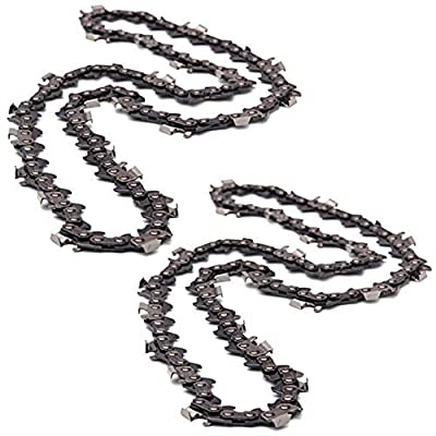 Genuine Husqvarna 345 350 435 440 Chainsaw Saw Chain (Pack of 2, 15'' H30 64E 0.325'')