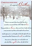 Grave Card - Christmas Memories of a Special Brother - Free Card Holder - CMX08
