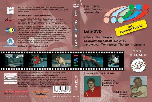 Pool Billard Trainings DVD PAT 3. Mit dem offiziellen Spielvermögenstest der WPA inkl. Psychologie CD ( DVD ) (Übung Pool)