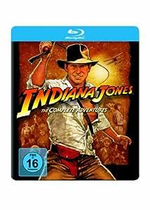Indiana Jones The Complete Adventures : Jumbo Steelbook inkl. Zippo [Blu-ray]
