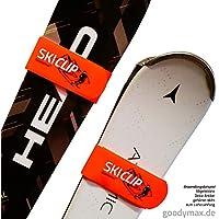 goodymax 1 Paar Skihalter Skiclip Skiclips Ski Clip richtig transportieren und lagern!