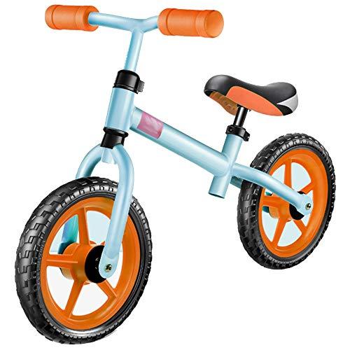 YUMEIGE Laufräder Balance Bike Foam Wheel Jungen Mädchen Erster Geburtstag No-Pedal Kleinkinder Walking Fahrrad für 2-6 Jahre alt Chil Glider Bike 3 Farben (Color : Orange)