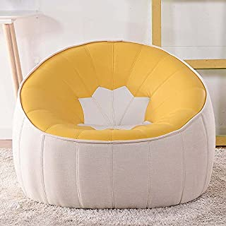 ZR- Single Sofa Chair Creative Bedroom With Lazy Sofa Deckchair Ambu Art Living Room Small Apartment Lazy Sofa (color Optional) -Applicable to indoor and outdoor (color : #5)