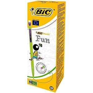 BIC Matic Fun 0.7mm Mechanical Pencils 12 Box