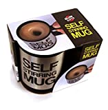 #10: Kakde's & Co. Self Stirring Mug Automatic Stainless Coffee Mixing Cup