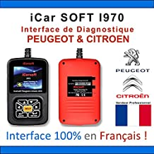 iCarsoft I970 PSA Lexia Diagbox PP2000, maleta de diagnóstico para Peugeot y Citroën