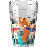 Haba 303424 Glitzerbecher Little Friends Reiterhof
