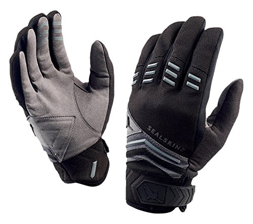 SealSkinz Dragon Eye Mountain-Bike-Handschuhe L Black/Anthracite/Mid Grey