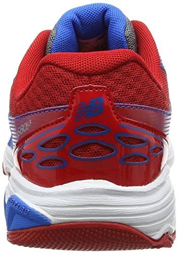 New Balance 680v3, Sneakers Basses Mixte Enfant Multicolore (Grey/blue)