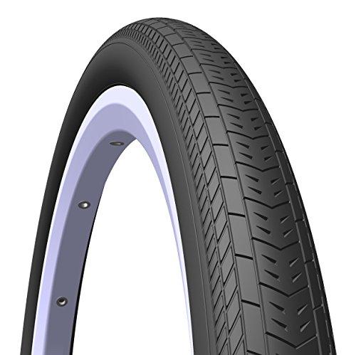 MITAS (Rubena) Speedo LT BMX Elite Level Reifen, 20x 1,75x 2(47–406), schwarz (Paar von Reifen)
