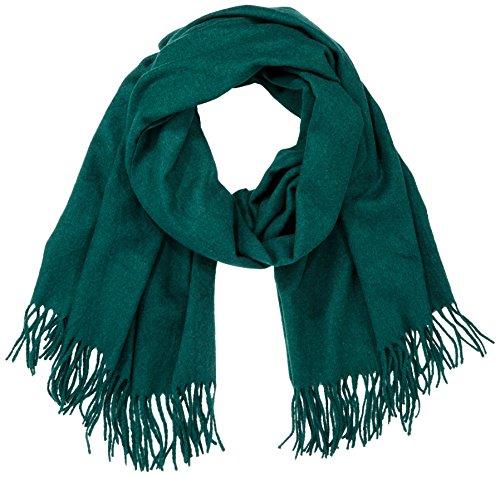 PIECES Damen Schal PCJIRA Wool Scarf NOOS, Grün (Ponderosa Pine), One Size
