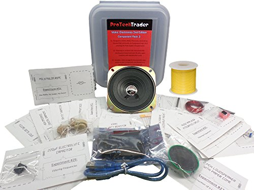 protechtrader machen: Elektronik 2nd Edition Component Pack 3Deluxe, Electronic Kit mit Arduino Mikrocontroller