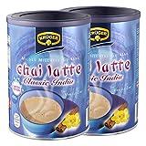 Krüger Chai Latte Classic India Vanille-Zimt, Milchtee, Teepulver, Instant Tee, 2 x Dose, 8971