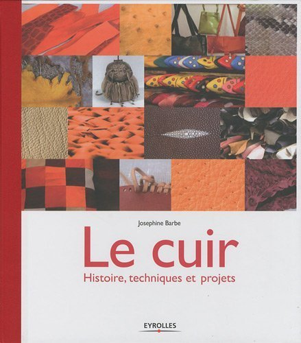 Le cuir : Histoire. techniques et projets de Barbe. Josphine (2009) Reli
