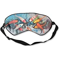 Comfortable Sleep Eyes Masks Fishes Carp Painting Printed Sleeping Mask For Travelling, Night Noon Nap, Mediation... preisvergleich bei billige-tabletten.eu