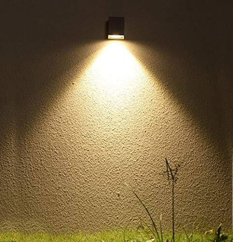 ZXL Mur extérieur LED étanche étanche extérieur étanche Lampe de Villa Villa allée de Jardin pelouse Lampes de Jardin
