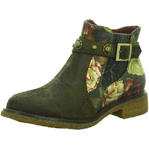 Laura Vita Damen Coralie 04 Chelsea Boots Taupe