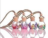 Huakaimaoyi Personalisierte Lufterfrischer Für Autos Hängen Lufterfrischer Nachfüllbar Parfümflasche Auto Spiegel Hängen Zubehör 10 Stück-Mehrfarbig