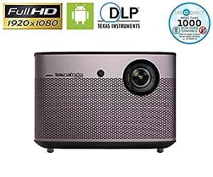 Proiettore Home Cinema, XGIMI H1 Native 1080P HD DLP Proiettore Android 3D Smart TV con Harman/Kardon Customized Subwoofer Stereo e LiveTV di Servizi