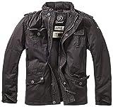 Brandit Herren Jacke Britannia Winter, (Schwarz 2), Large