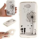 COZY HUT Custodia Alcatel One Touch Pop C7, Alcatel One Touch Pop C7 Soft Cover Case, Ultra Sottile Silicone Custodia Morbido Flessibile Case Cover Alcatel One Touch Pop C7 Protettivo Skin U