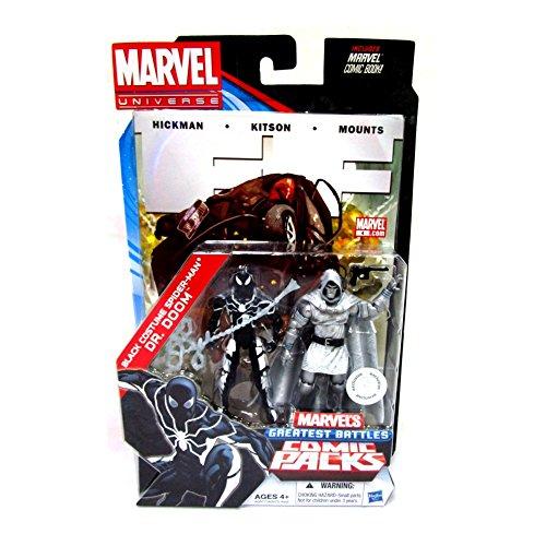 Marvel Universe Comic Packungen 33/10,2cm schwarz Kostüm Spider-Man & DR DOOM (Dr Doom Kostüm)