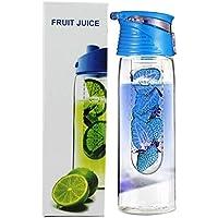 Switty 800ml blau wimports Trinkflasche mit Fruit-Ei und Flip Deckel Zitronensaft machen bottle- preisvergleich bei billige-tabletten.eu
