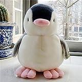 Berrose-Pinguin Baby Weiches Plüschtier Gefülltes animiertes Tier Singen Kind Puppe Geschenk-Kawaii Pinguin Baby weich Plüschtier Singen gefüllt Animated Animal Kid Puppe Geschenk (Schwarz, 13cm)