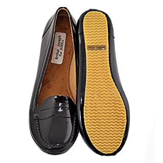 AJS Womens Rubber Shoes (Moc Flats) Size 10