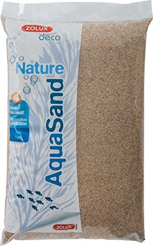Zolux Kies Natur für Aquarium Sand-Fluss von 1bis 4mm Korngrösse-5kg