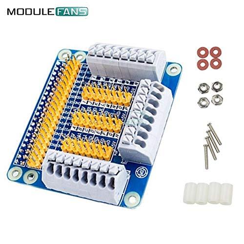 Pi Platte (Raspberry pi 3 GPIO VerlängerungsBrett Schild multifunktional für Himbeere Pi 2 Orange Pi PC Banana Pi GPIO Adapter Platte)