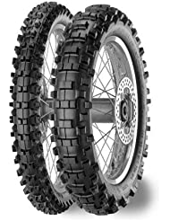 Metzeler 6 Days Extreme Front Tire - 90/90-21, Position: Front, Rim Size: 21, Tire Application: All-Terrain, Tire Size: 90/90-21, Tire Type: Dual Sport, Load Rating: 54, Speed Rating: M 2055100 by Metzeler