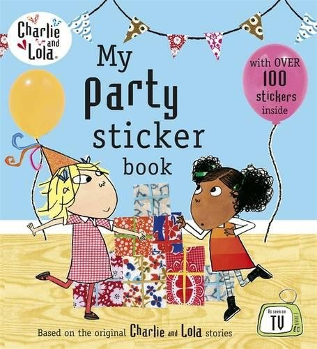 My party sticker book