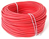 KBE Solarkabel 4 mm². 10 Meter Länge. Farbe Rot. Made in Germany.