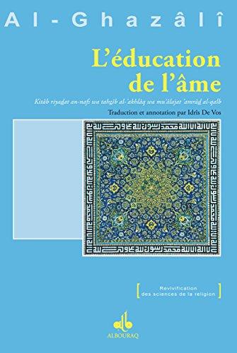 Education de l'âme (L')