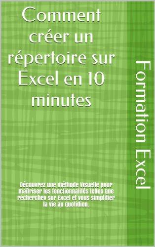 Comment créer un répertoire sur Excel