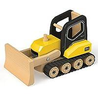 Tidlo T0414 Wooden Bulldozer Construction Vehicles