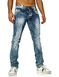 Amica Jeans - Jeans délavé homme Jeans AM9608 bleu - Bleu
