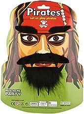 Studio Décor Pirate Beard and Moustache Party Prop,Faux Hair