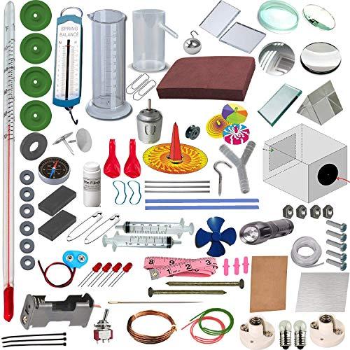 Physics LAB Tool Box - STEM Activity Set - STEM Kits for Kids - Science Adventure Box - Tinkering LAB Model - School LAB Model – Teacher'S Learning Material - TLM Model
