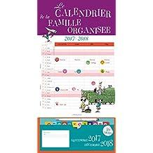 Le calendrier de la famille organisée 2017-2018