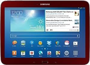 Samsung Galaxy Tab 3 10.1 Red Edition 25,7 cm (10,1 Zoll) Tablet-PC (Intel Atom Z2560, 1,6GHz, 1GB RAM, 16GB HDD, Android 4.2) rot