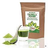 Chlorella Organico in polvere, alta qualità, ricco di proteine, in magnesio, in Potassio, in fibra, in ferro e in verde clorofilla | 200 g | per Nutri Superfoods