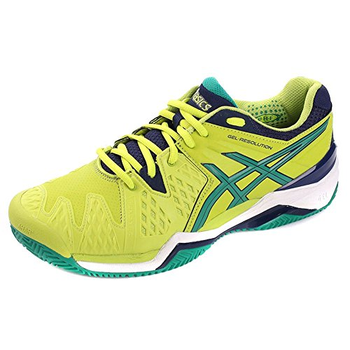 Asics - Gel-resolution 6 Clay, Scarpe da tennis Uomo Verde