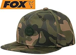 8ee2760ab9ef5 Fox Chunk Camo Edition Flat Peak Snap Back Cap c o Reelfishing ...