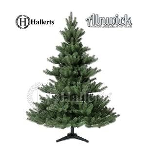 """TESTSIEGER : PREMIUM Spritzguss Weihnachtsbaum """"Nordmanntanne"""" 150 cm Kunsttanne Spritzgusstanne künstlicher Weihnachtsbaum Alnwick"""