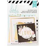 American Crafts Heidi Swapp, biglietti per agenda, in acrilico, multicolori