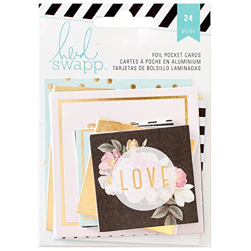 american-crafts-heidi-swapp-memoire-planner-pocket-cartes-2-acrylique-multicolore