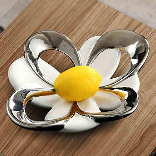Moderno semplice piatto di frutta in ceramica creativa, ornamenti da ...